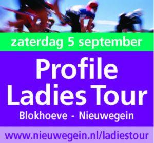 Profile Ladies Tour - meerdaagse Nederlandse wielerwedstrijd voor vrouwen